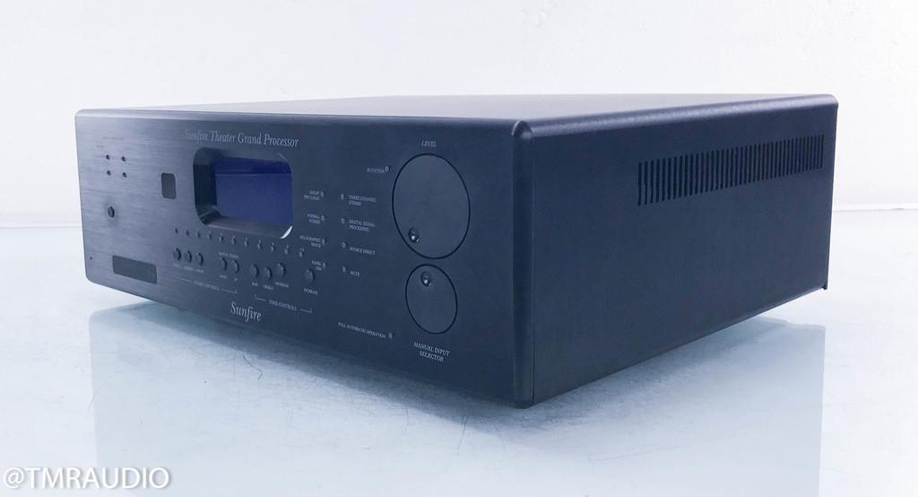 Sunfire Theater Grand Processor; 5.1 Channel Home Theater Preamplifier; Touchscreen Remote