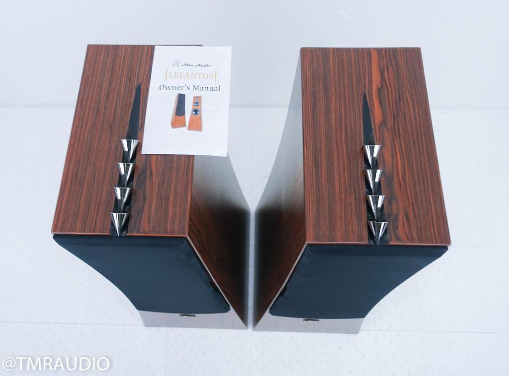 Alta Audio Lelantos Floorstanding Speakers; Rosewood Pair
