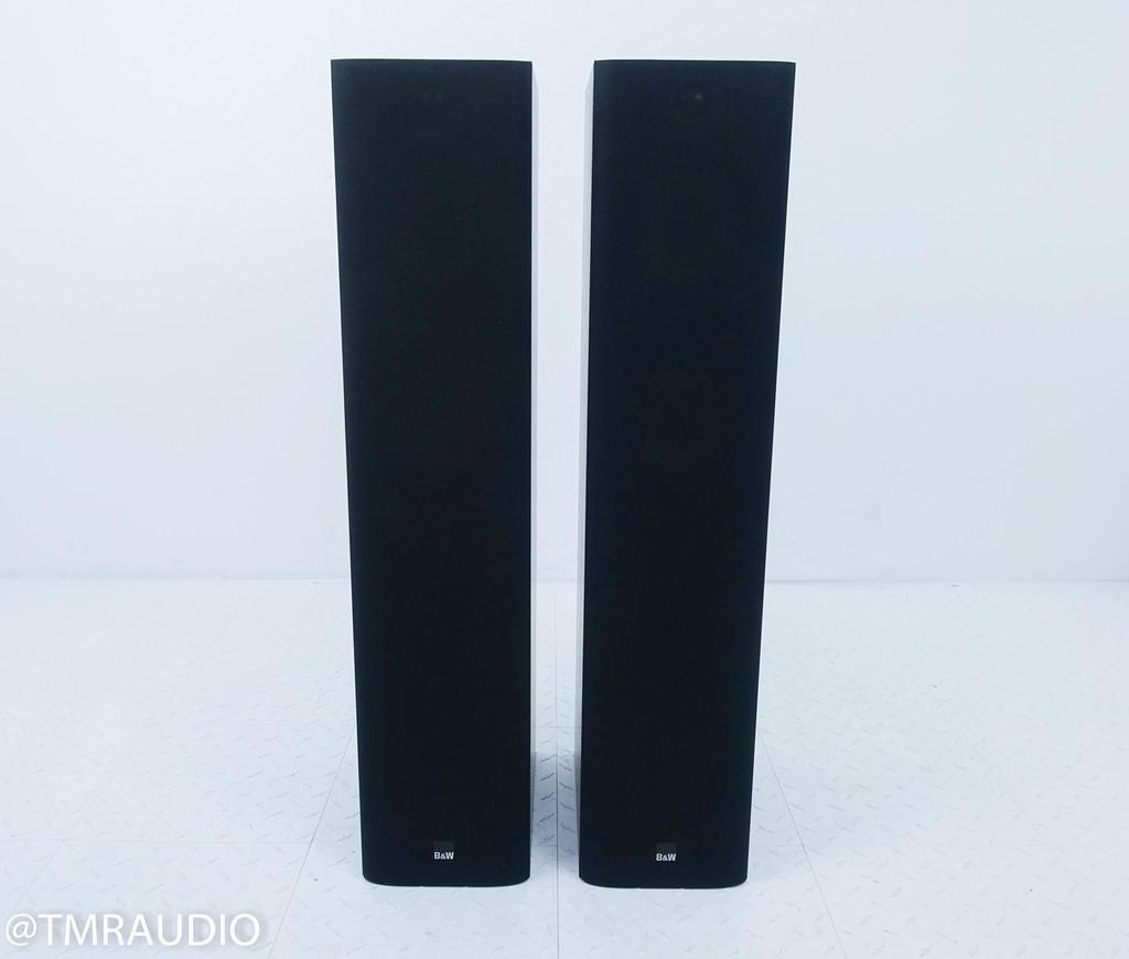 B&W 684 Floorstanding Speakers; Black Ash Pair; Bowers & Wilkins