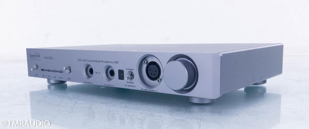 Questyle CMA600i DAC / Headphone Amplifier; Silver D/A Converter