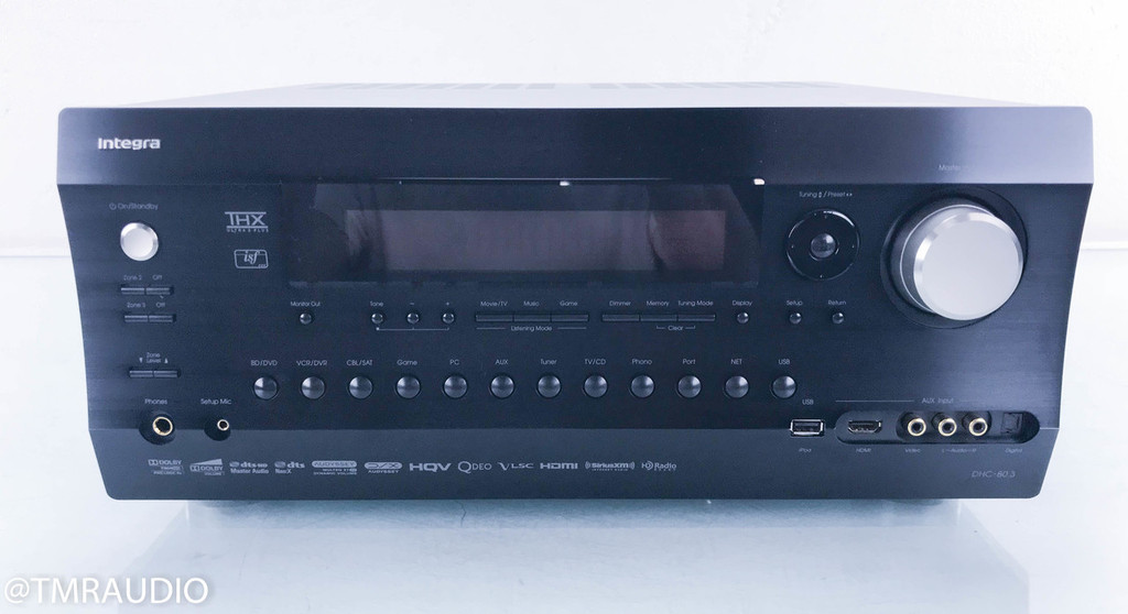 Integra DHC-80.3 (B) 7.1 Channel Home Theater Processor; Preamplifier