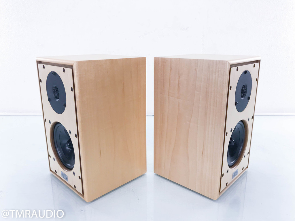 Harbeth P3ESR SE Bookshelf Speakers; Special Edition Monitors; Maple Pair P3-ESR