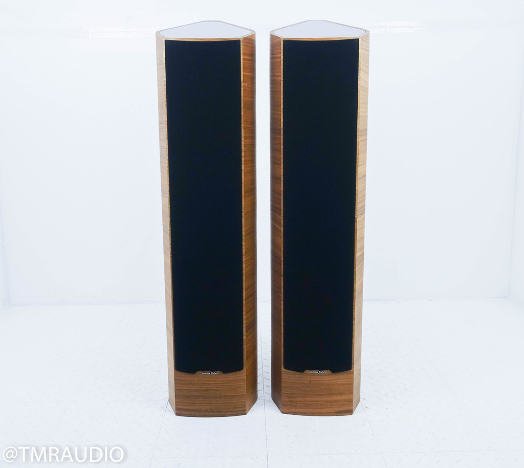 Sonus Faber Venere S Floorstanding Speakers; Signature; Walnut Pair
