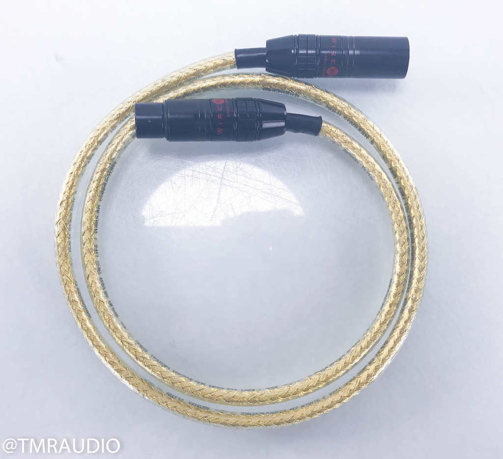Wireworld Gold Starlight 5 XLR Digital Cable; Single 1m AES/EBU Interconnect