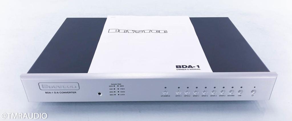 Bryston BDA-1 DAC; D/A Converter; Silver; USB