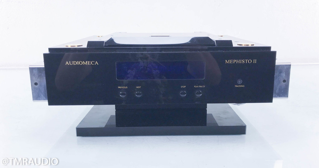 Audiomeca Mephisto II CD Transport;  Upgraded Revelation Audio Labs Umbilical