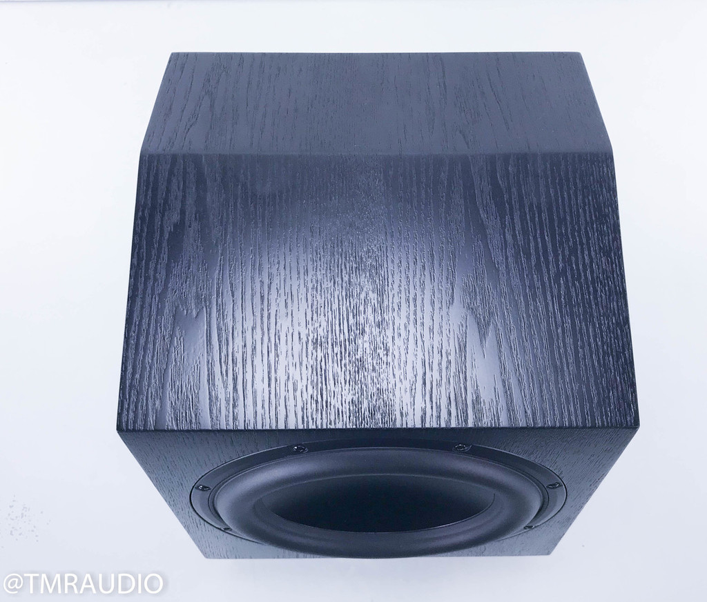 "Anthony Gallo Classico CLS-10 10"" Powered Subwoofer; Black Ash; Upgraded Cable"
