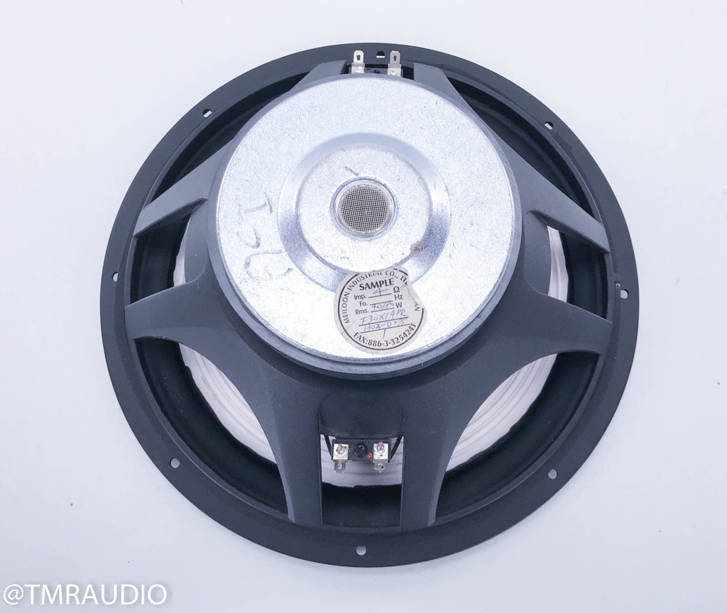 "Meiloon 10"" Aluminum Cone Woofer / Subwoofer; Servo Sensor; H03-0275 (Genesis / Infinity?)"