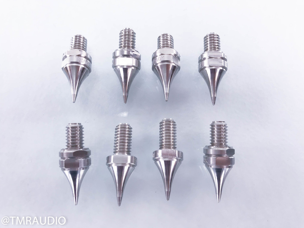 "Track Audio 3/8""-16 Steel Floor Spikes; Set of 8"