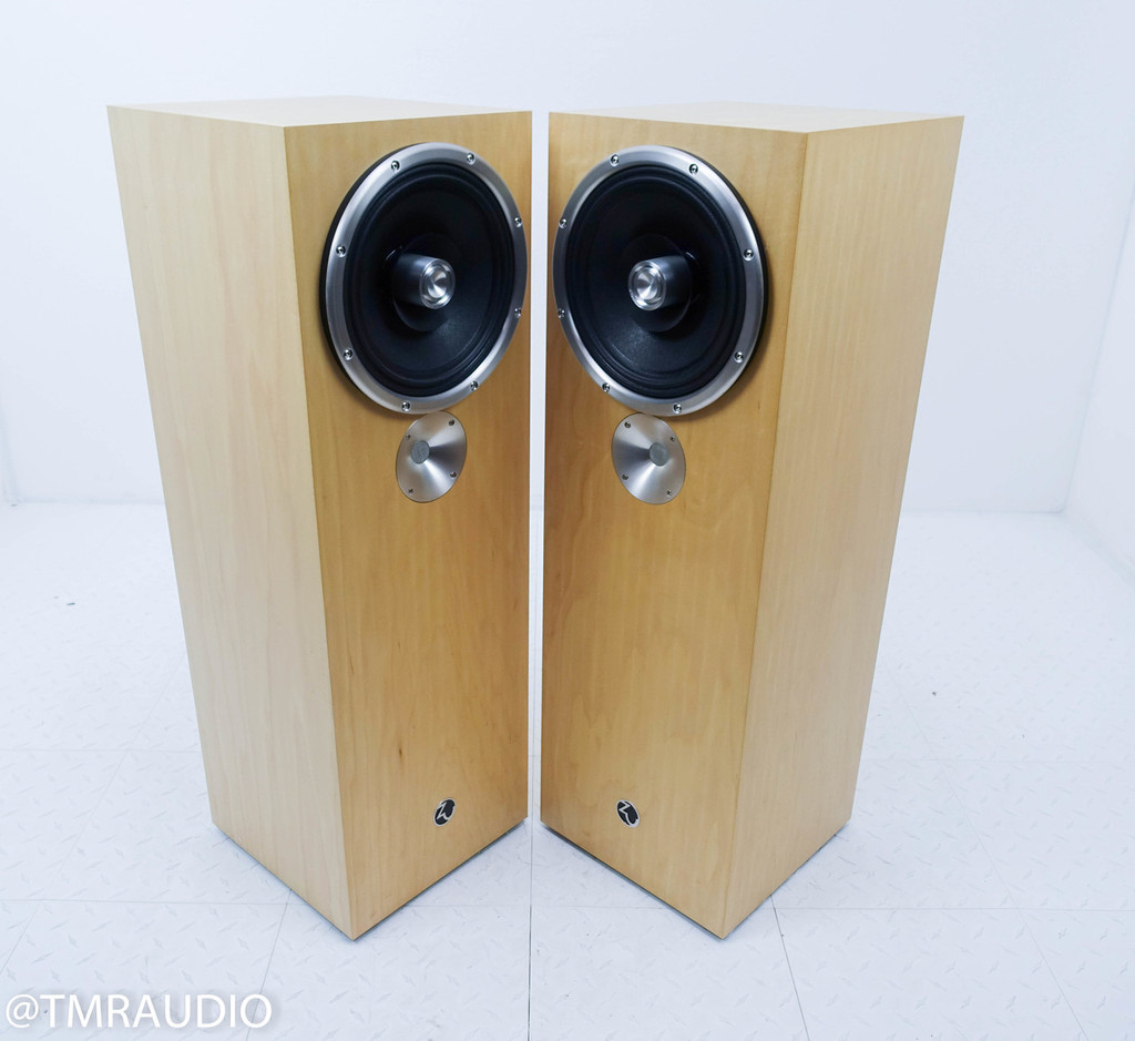 Zu Audio Omen Mk.II [Rev-B] Floorstanding Speakers; Maple Pair (Upgraded Drivers)