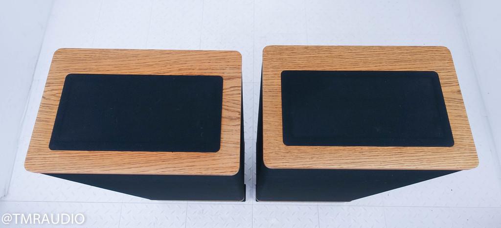 Vandersteen 2Ci Floorstanding Speakers; Dark Oak Pair; AS-IS (Distorted Woofer)