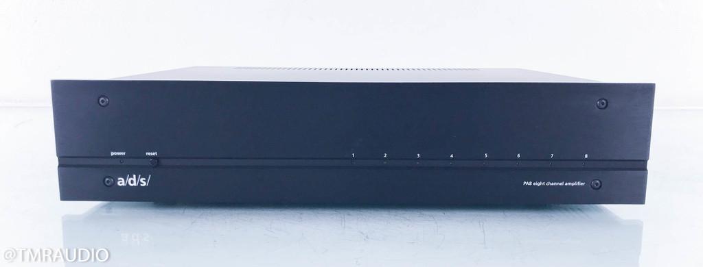 A/D/S PA8 8-Channel Power Amplifier; ADS PA-8