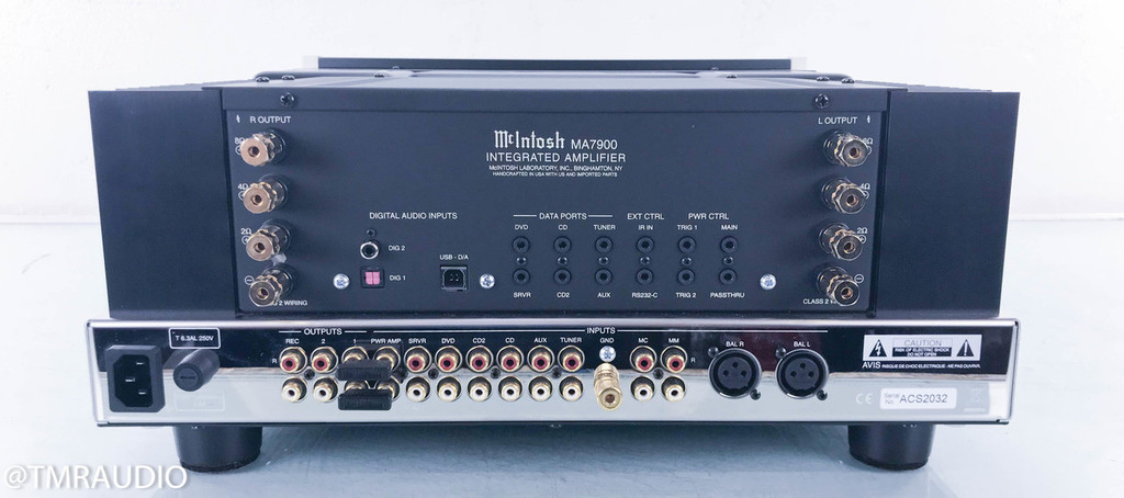 McIntosh MA7900 Stereo Integrated Amplifier; MM / MC Phono