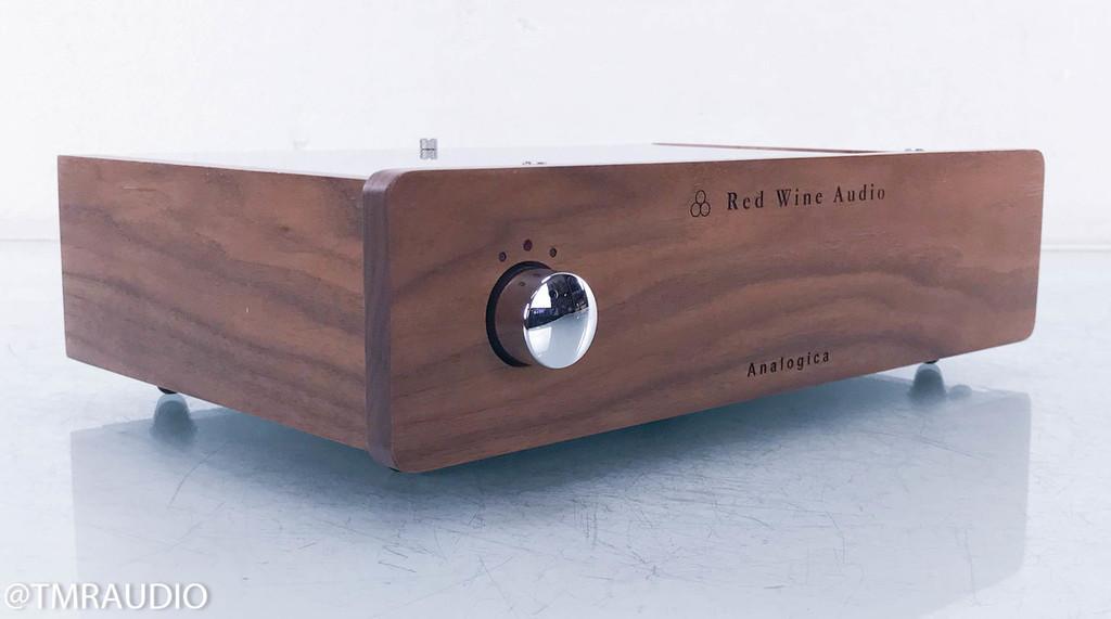 Red Wine Audio Analogica Renaissance Edition Phono Preamplifier; MM / MC; Walnut