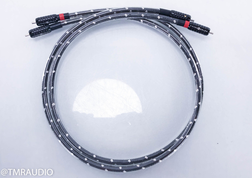 Wireworld Eclipse 5.2 RCA Cables; 1m Pair Interconnects; Squared (1/2)