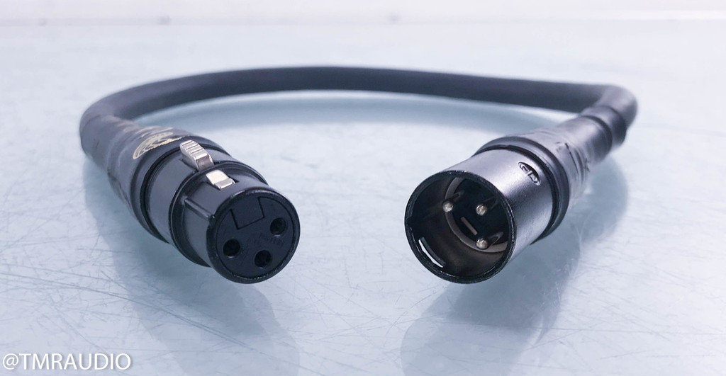 Cardas Golden Reference XLR Cables; .5m Pair Balanced Interconnects