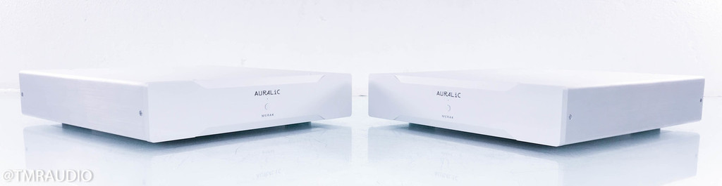 Auralic Merak Mono Power Amplifier; Silver Pair; Warranty (3/3)