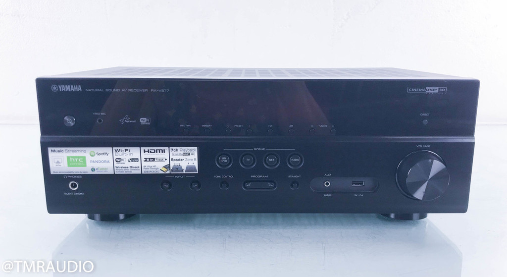 Yamaha RX-V577 7.2 Channel Home Theater Receiver; RXV577 (No Remote)