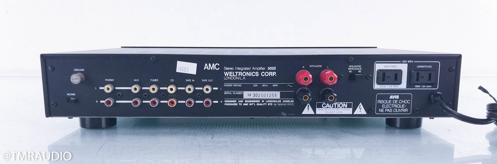AMC H.O.M.E. 3025 Stereo Integrated Amplifier; MM / MC Phono