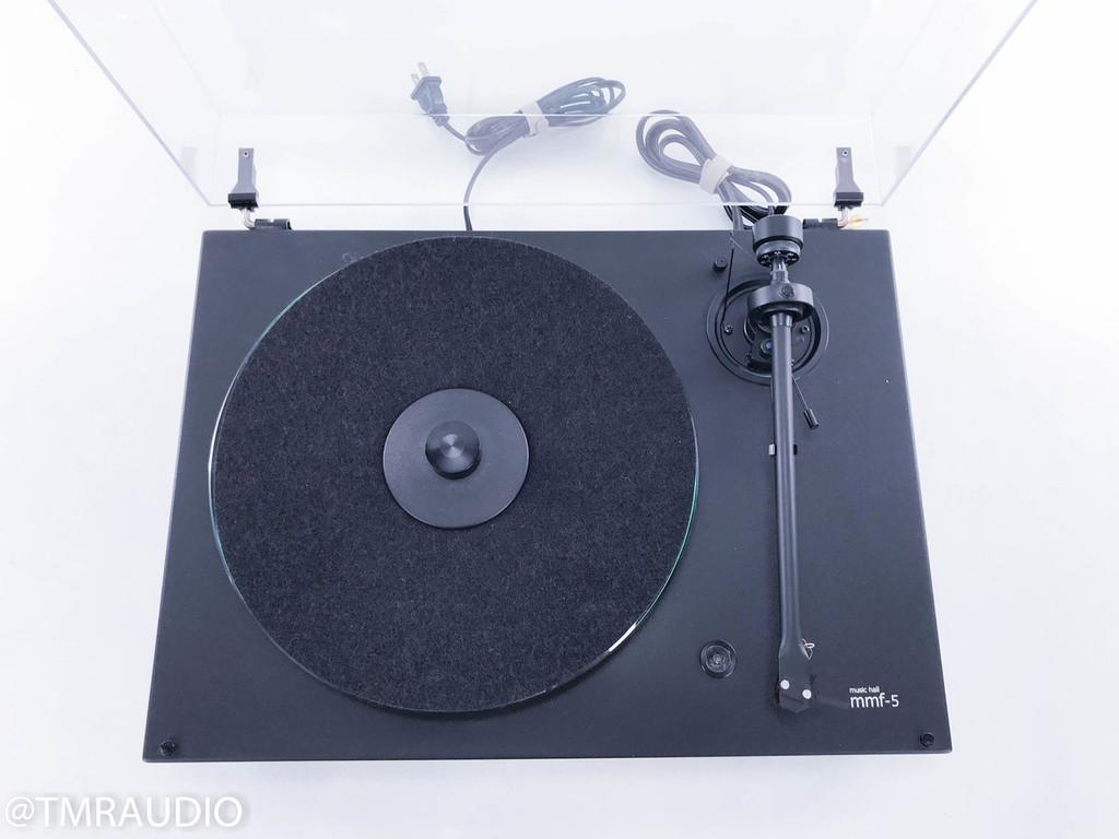 Music Hall MMF-5 Turntable; Ortofon 2M Red Cartridge