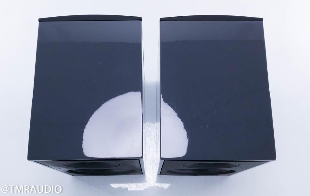 Paradigm Shift A2 Powered Bookshelf Speakers; Gunmetal Gray Gloss Pair w/ Stands