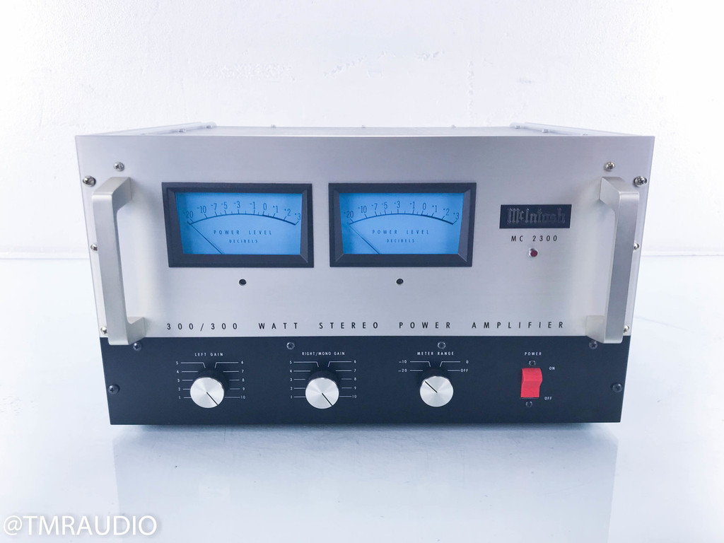 McIntosh MC 2300 Vintage Stereo Power Amplifier; MC2300