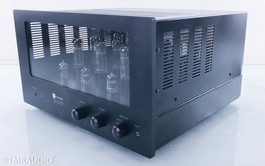 Jolida JD1000BRC Stereo Tube Integrated Amplifier; Remote