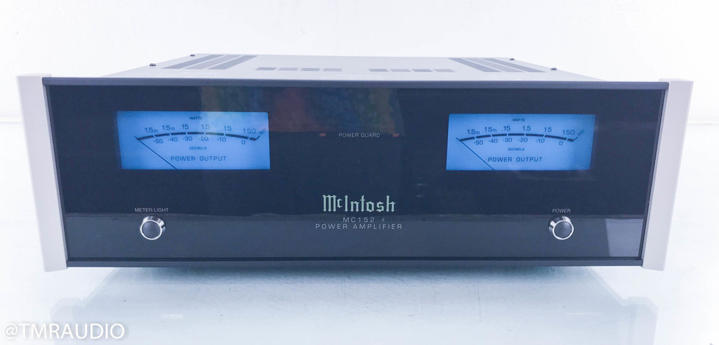 Mcintosh MC152 Stereo Power Amplifier; Mint Condition