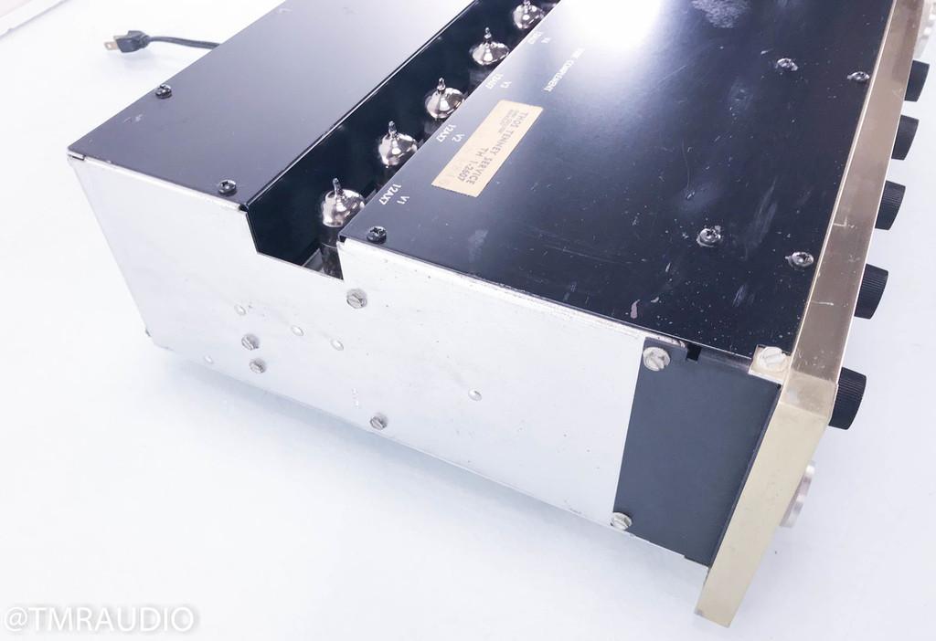 McIntosh C20 Vintage Stereo Tube Preamplifier; MM/MC Phono