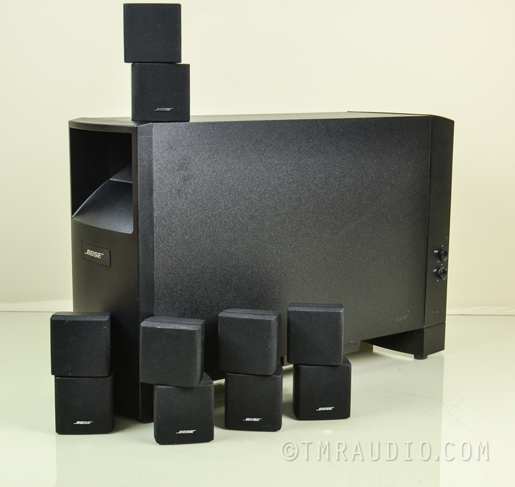 bose acoustimass 10 iii surround sound speaker system. Black Bedroom Furniture Sets. Home Design Ideas