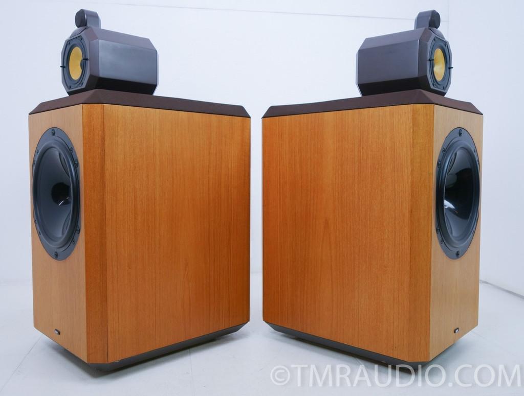 B&W 801 Series 80 Vintage Speakers; Pair Brown Teak; Bowers & Wilkins