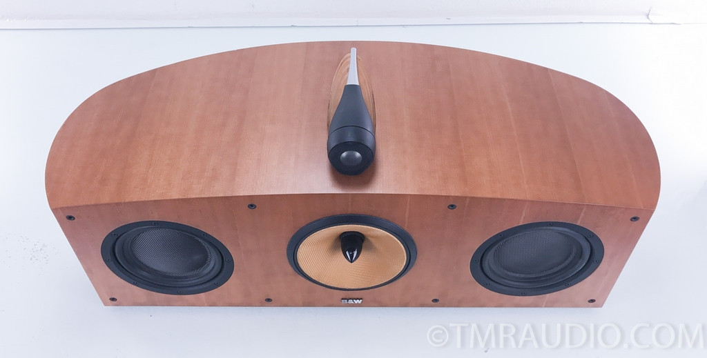 B&W HTM1 Nautilus Center Channel Speaker; Cherry; Bowers & Wilkins HTM-1