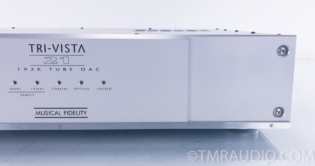 Musical Fidelity Tri-Vista 21 Tube DAC; D/A Converter (2/2)