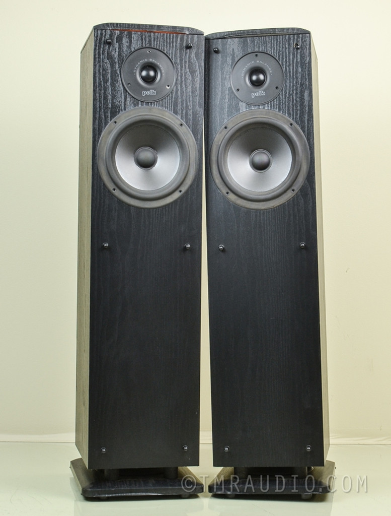 Polk Audio RT8 Speakers; Compact Floorstanding Pair