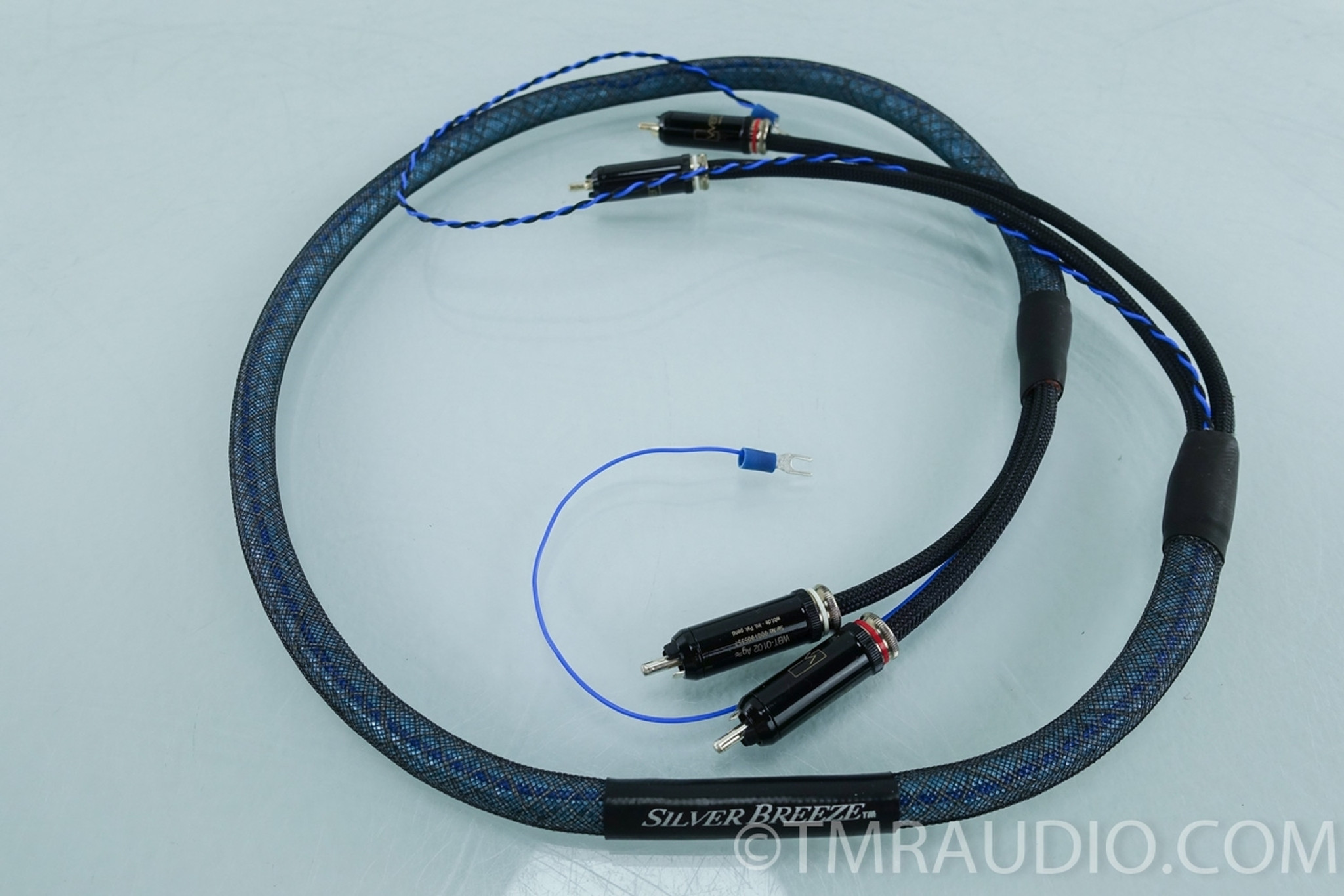 Silver Audio Silver Breeze RCA Cables 1.25m Phono Interconnects ...
