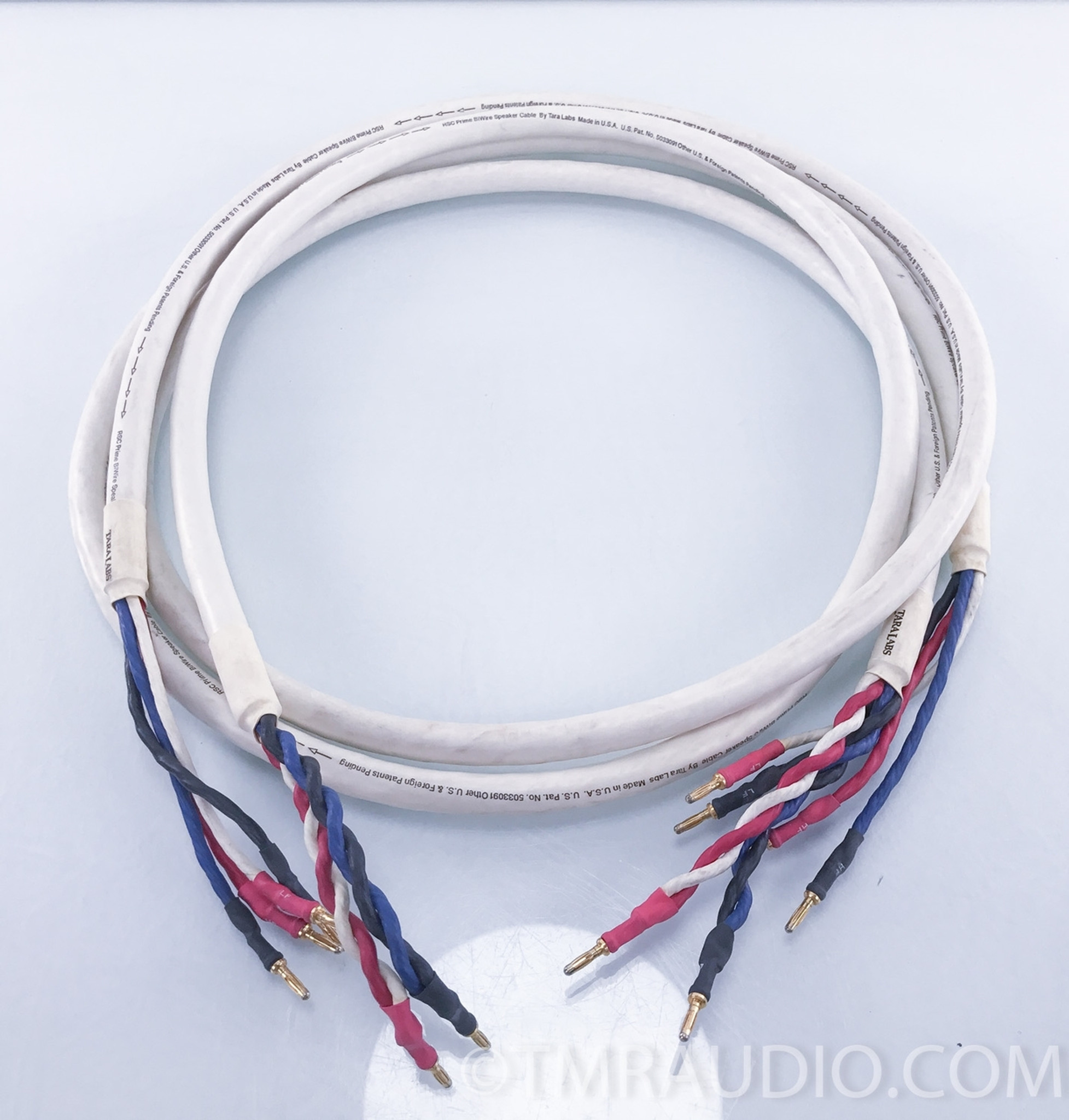 Tara Labs RSC Prime Bi-Wire Speaker Cables; Pair - The Music Room