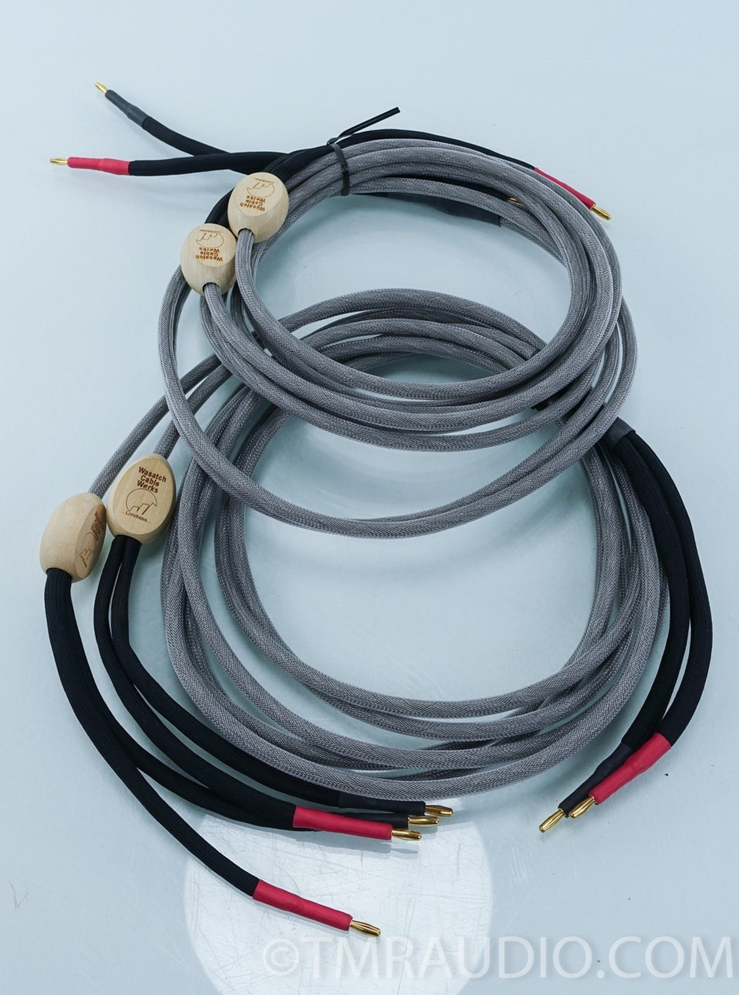Wasatch Cable Works LC-604 10ft Pair Bi-wire Speaker Cables - The ...