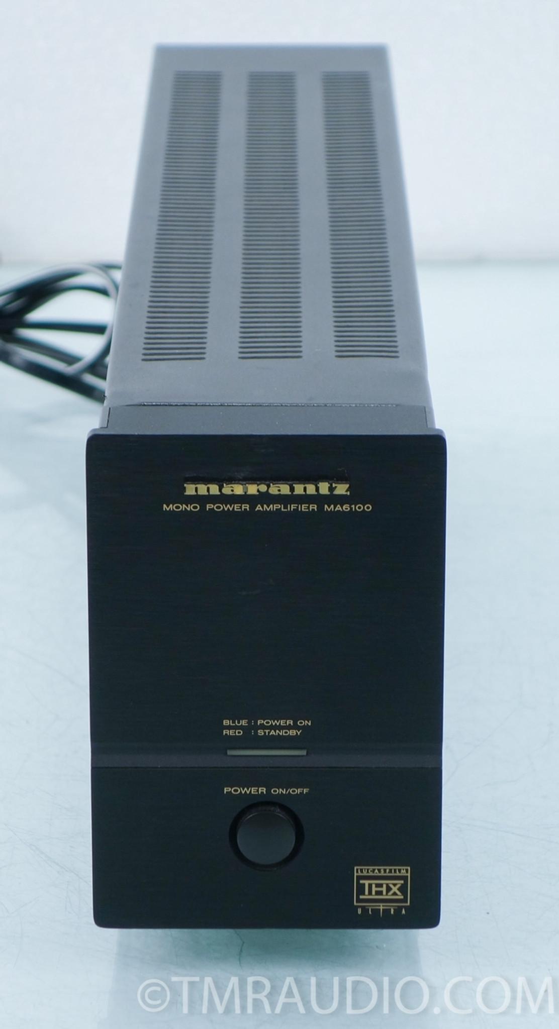 marantz ma6100 mono amplifier ma 6100 1 the music room rh tmraudio com Marantz 6100 Review Marantz SC-7S2