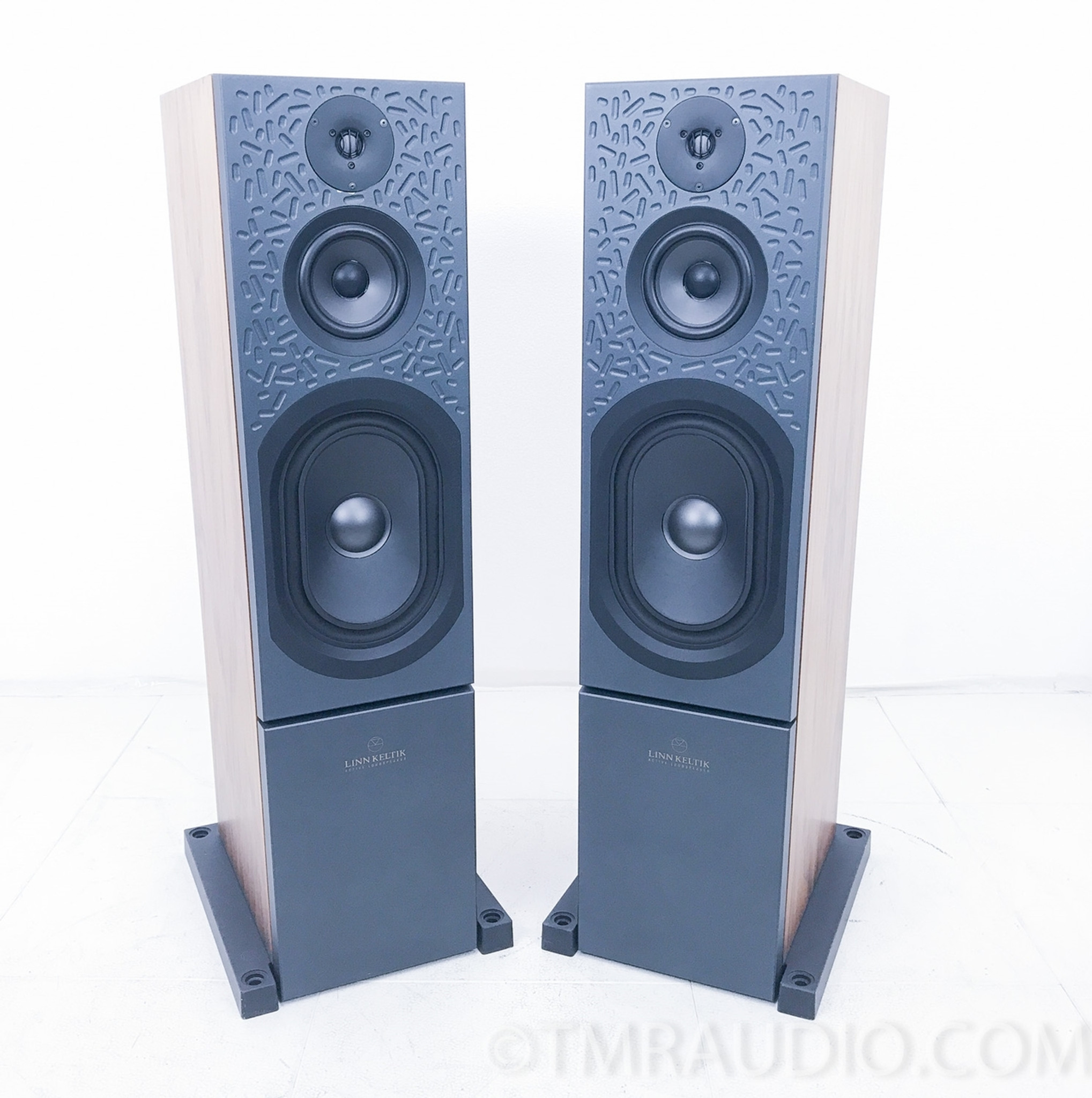 Linn Keltik Floorstanding Speakers; Cherry Pair - The Music Room