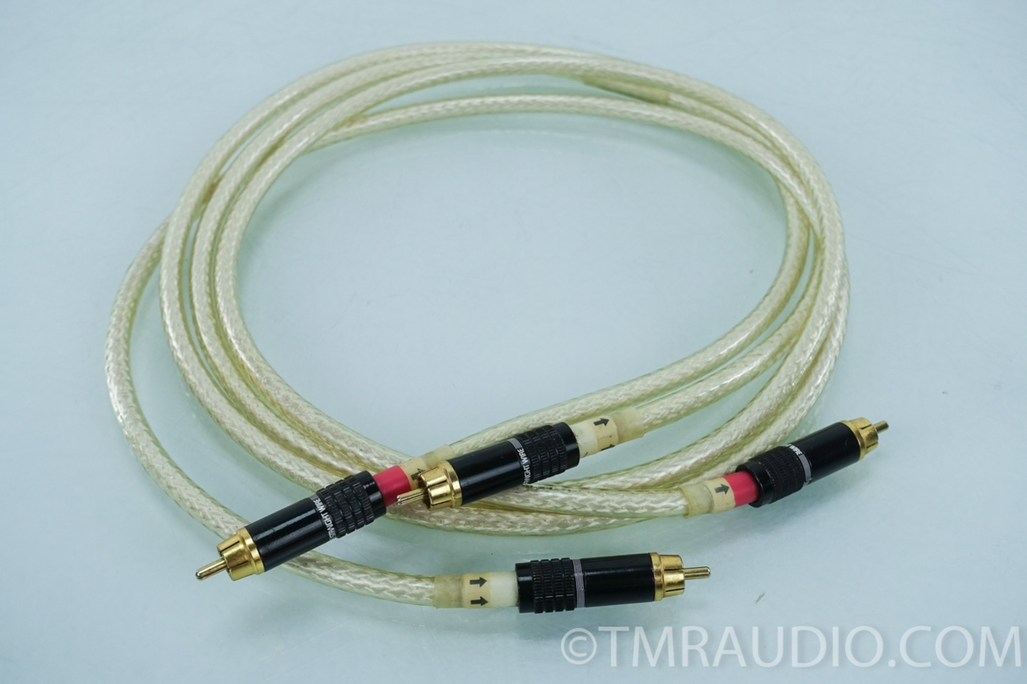 Straight Wire Maestro RCA Cables; 1.5 meter Pair Interconnects - The ...