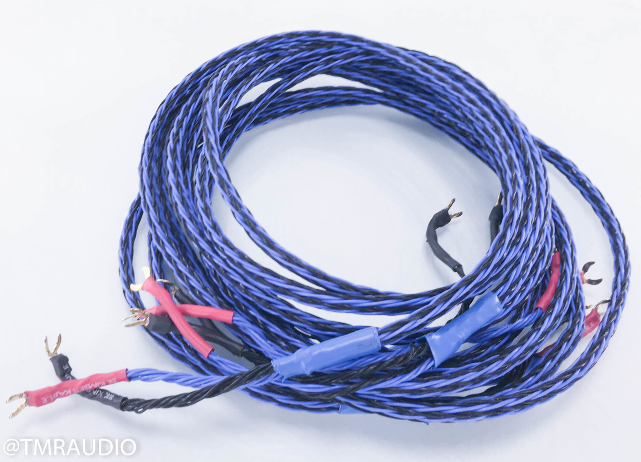 Kimber Kable 8TC Bi-Wire Speaker Cable; 12 ft. Pair - The Music Room