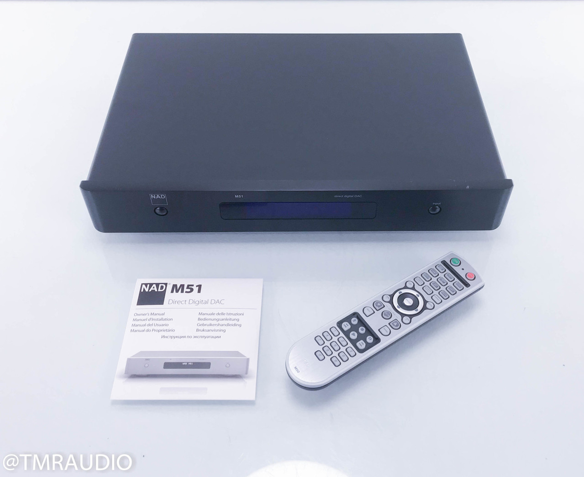 nad m51 direct digital dac d a converter the music room rh tmraudio com nad m51 manual pdf NAD M51 Firmware
