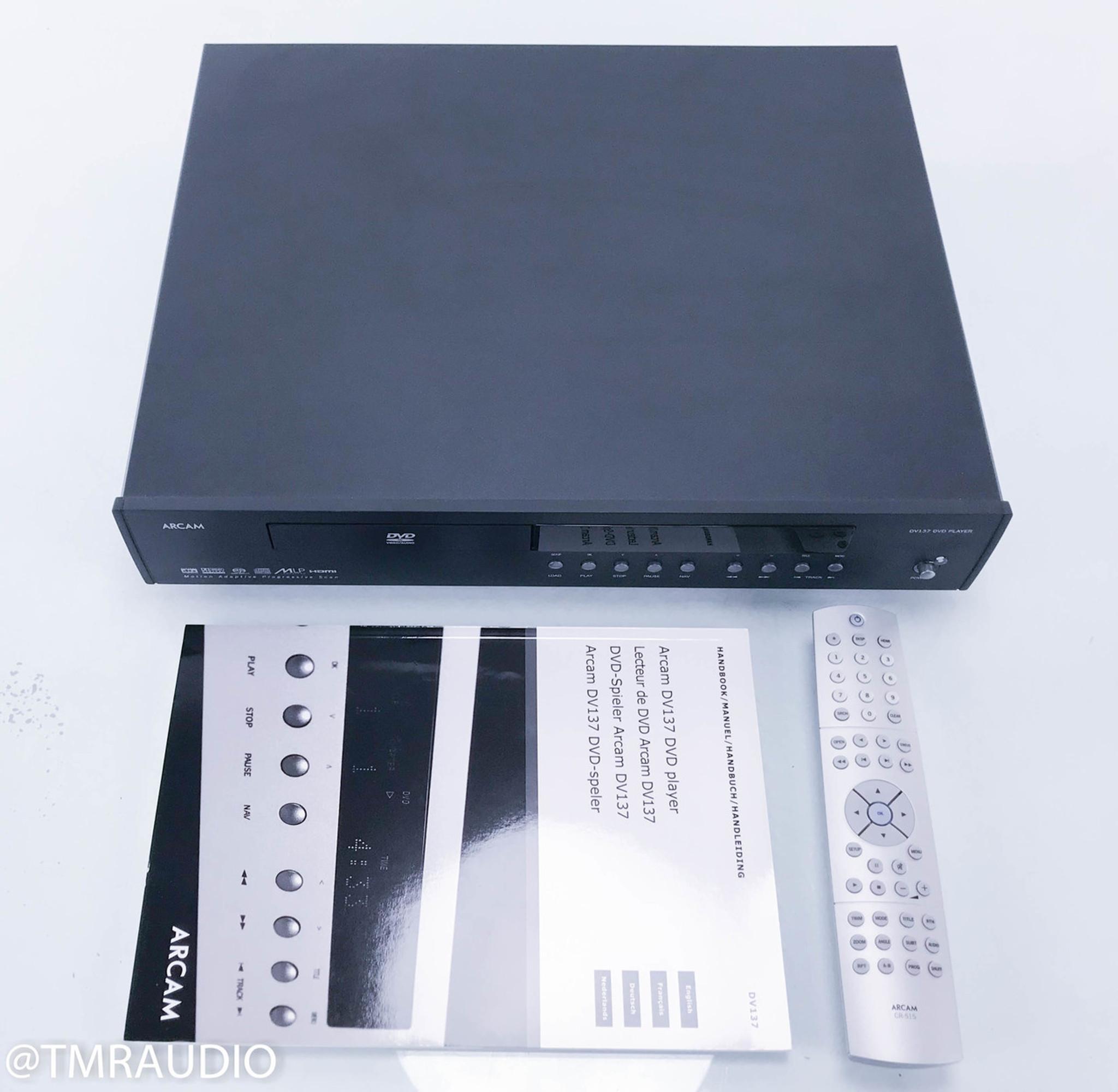 arcam dv137 dvd cd sacd player the music room rh tmraudio com