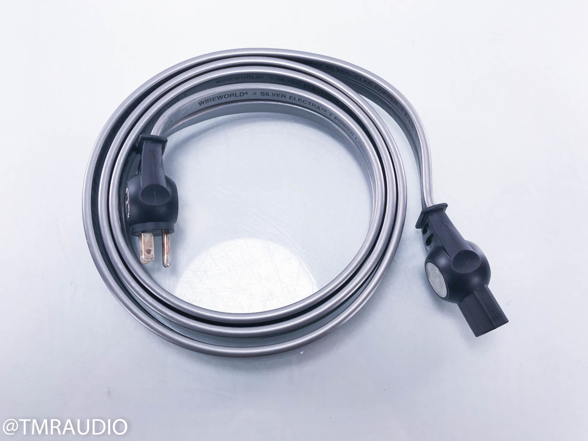 Wireworld Silver Electra 7 Power Cable; 2m AC Cord - The Music Room