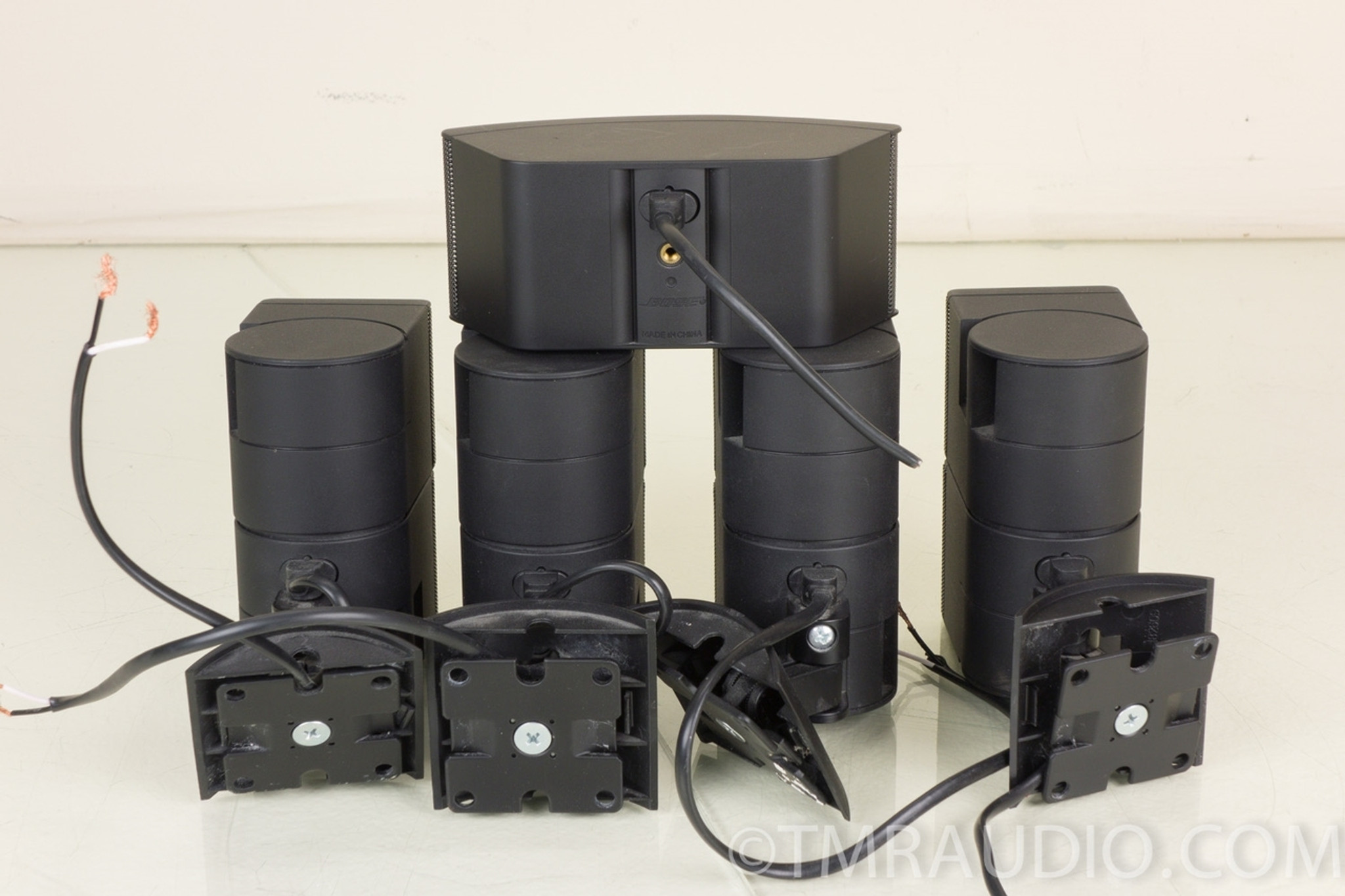 bose jewel cube speakers set of 5 w ub 20 brackets the music room. Black Bedroom Furniture Sets. Home Design Ideas