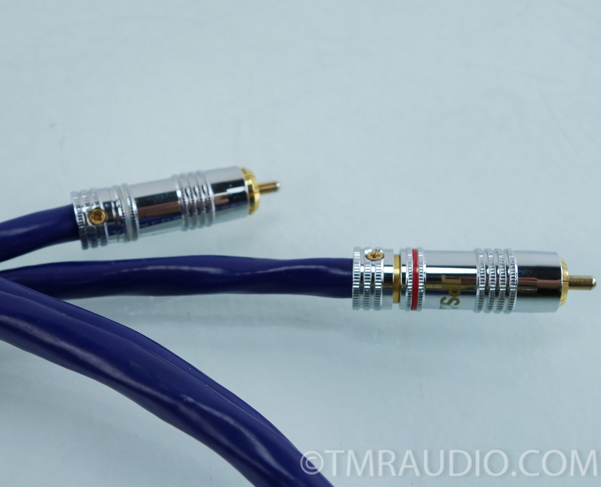 JPS Labs Superconductor FX RCA Cables; 1m Pair Interconnects - The ...