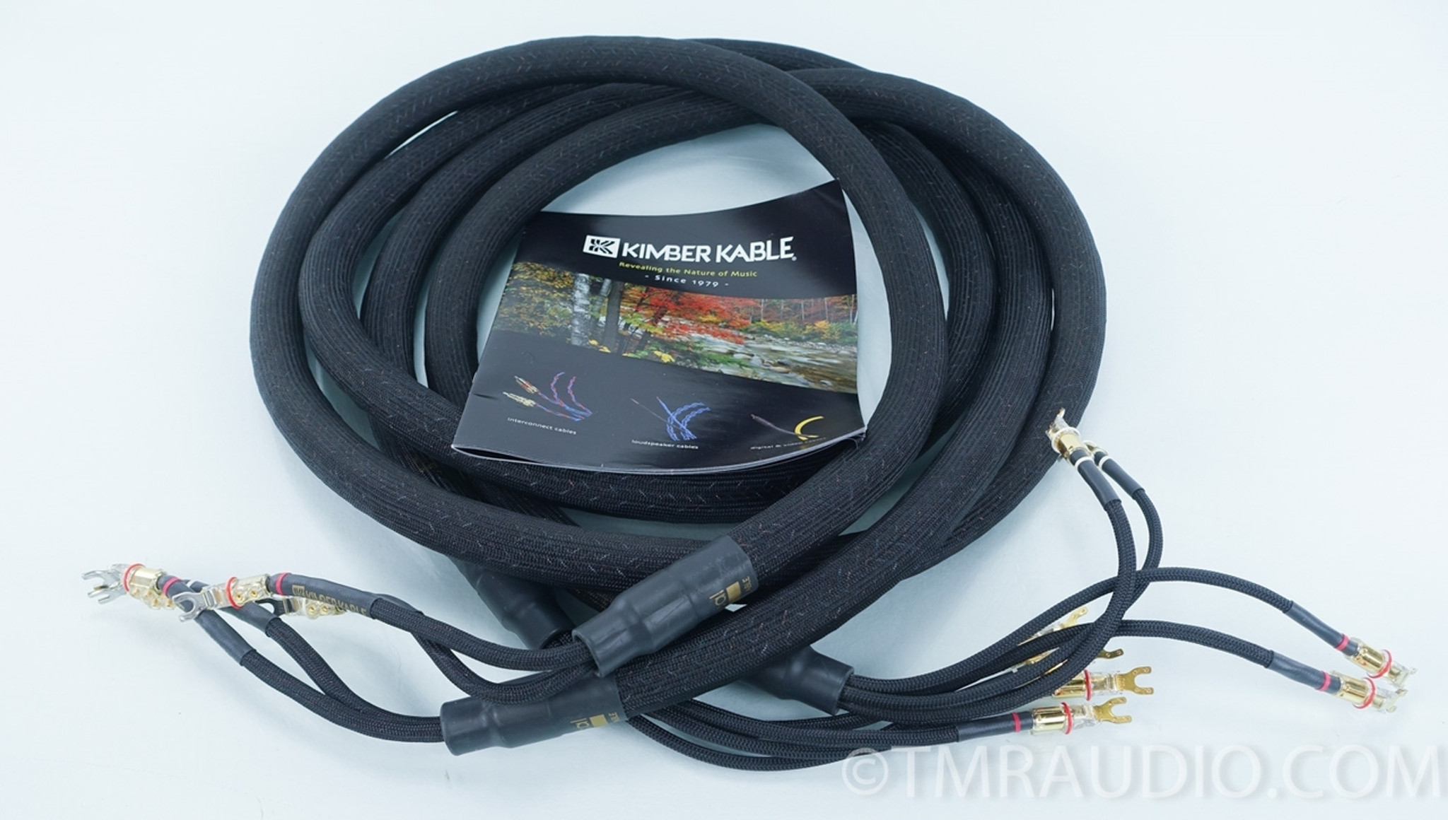 Kimber Kable Bifocal XL Bi-wire Speaker Cables; 10ft Pair; Upgraded ...