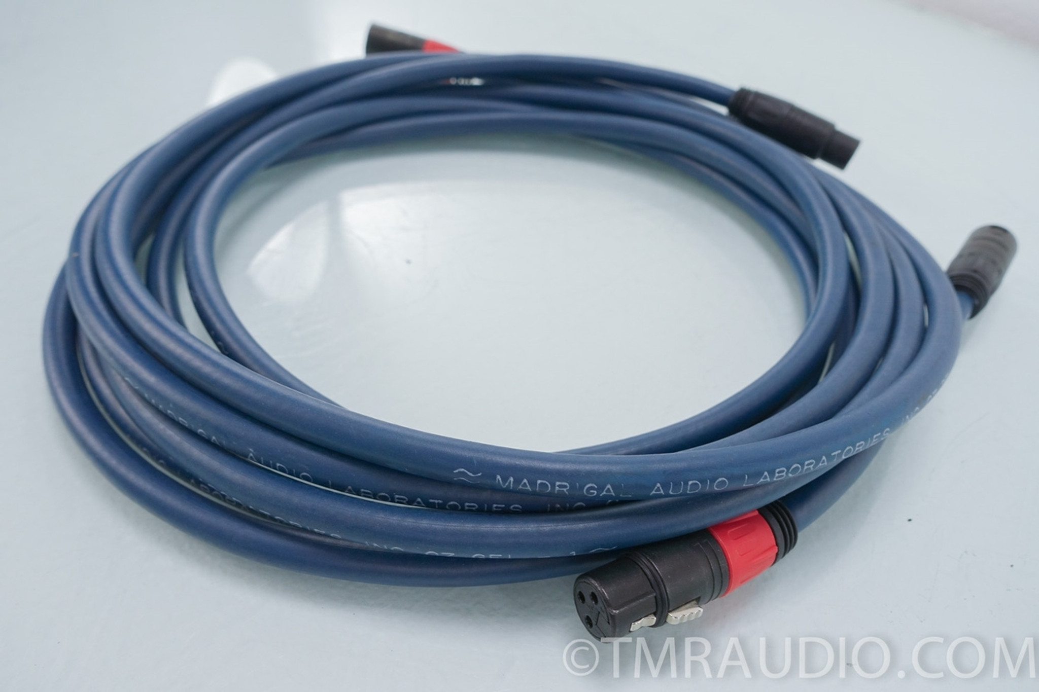 Madrigal CZ GEL-1 Balanced 3 meter XLR Cables / Interconnects - The ...