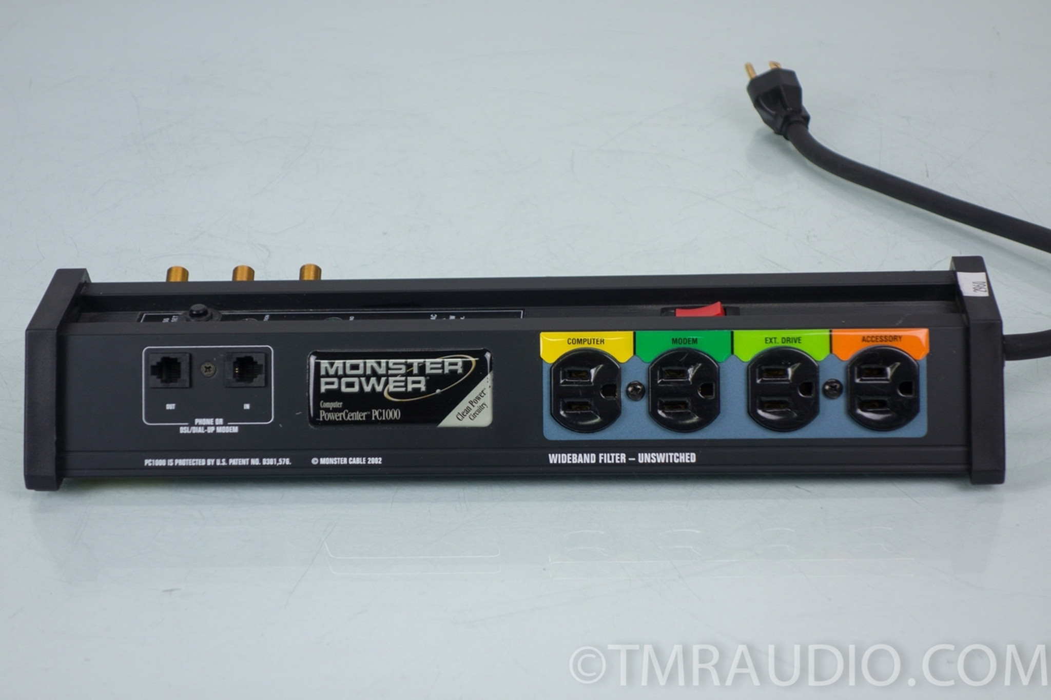 Monster PC1000 PowerCenter Surge Protector - The Music Room