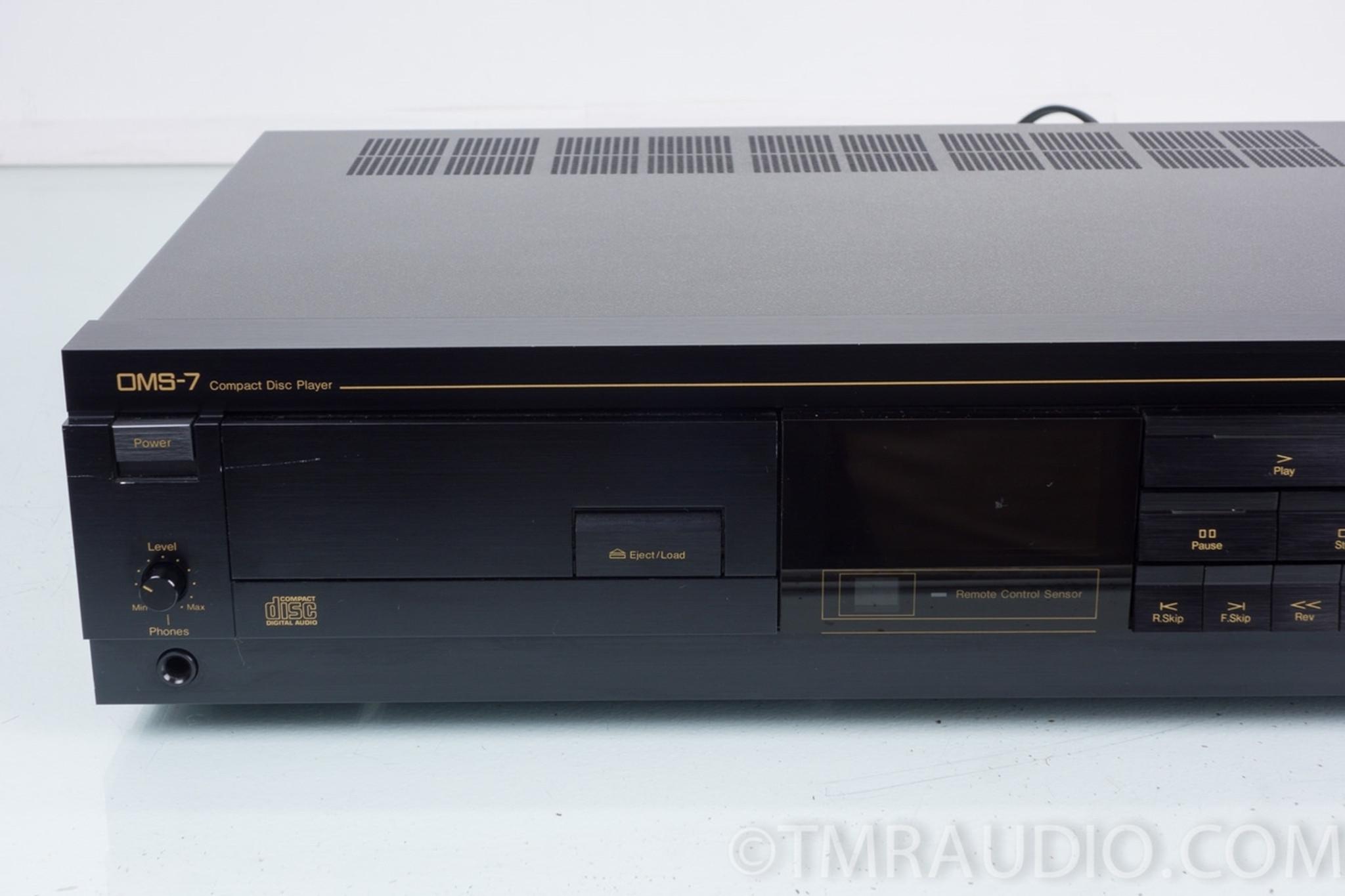 nakamichi oms 7 cd player in factory box the music room rh tmraudio com